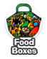 Kid's birthday party food boxes