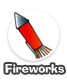 Party fireworks display